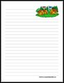 6 Images of Camp Stationary Printable