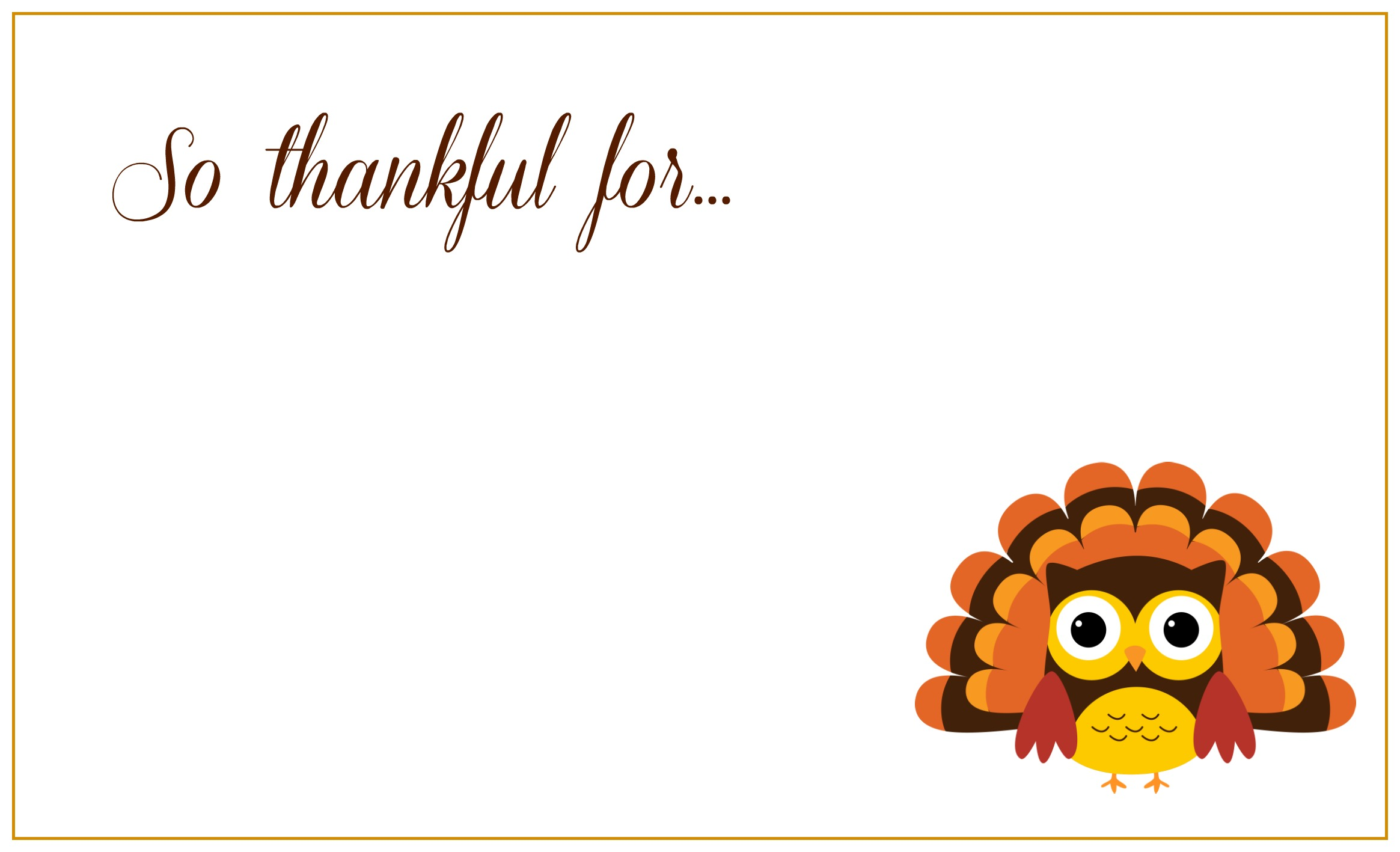 7 Images of Printable Thanksgiving Place Card Template