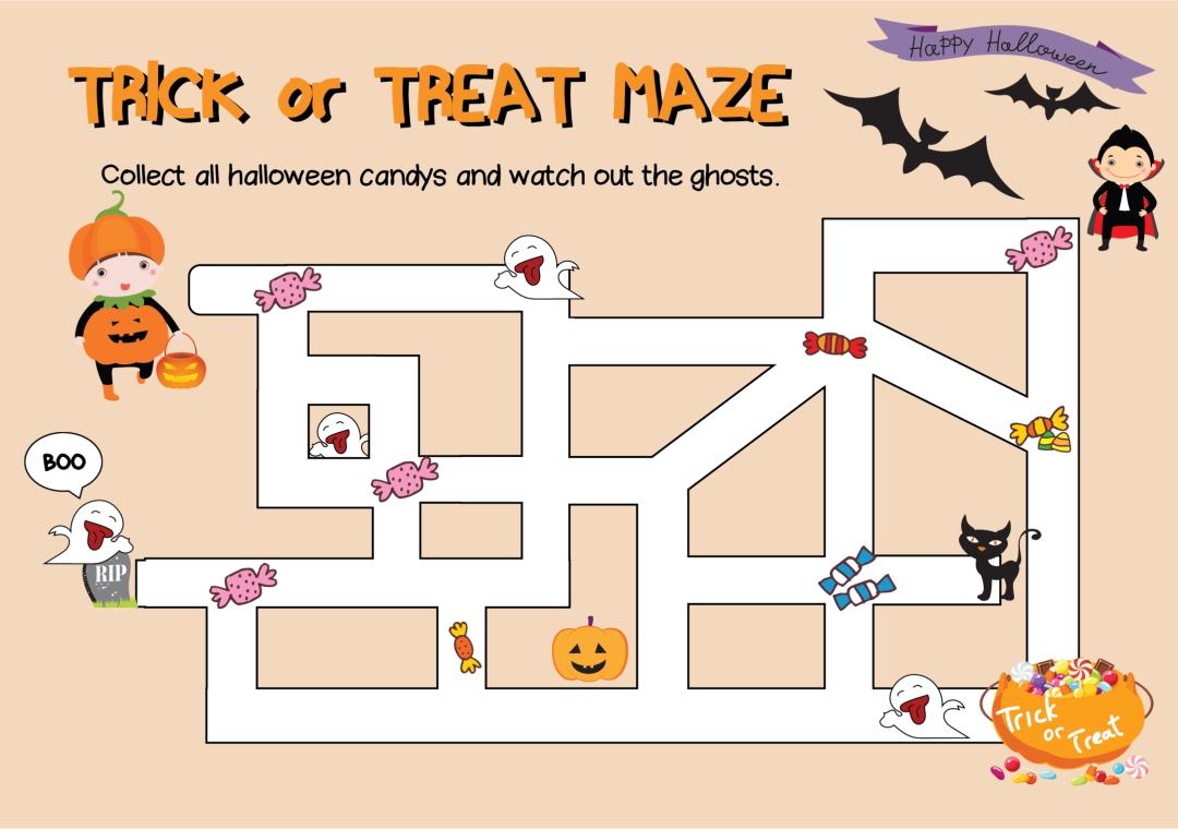 Fun Halloween Games Printable