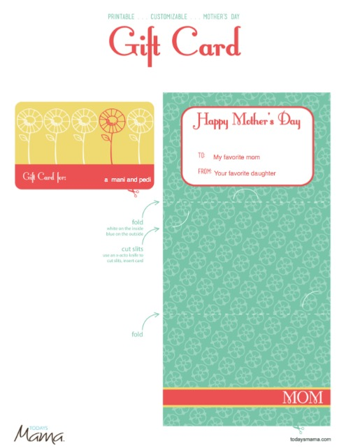 6 Images of Gift Card Printable Template