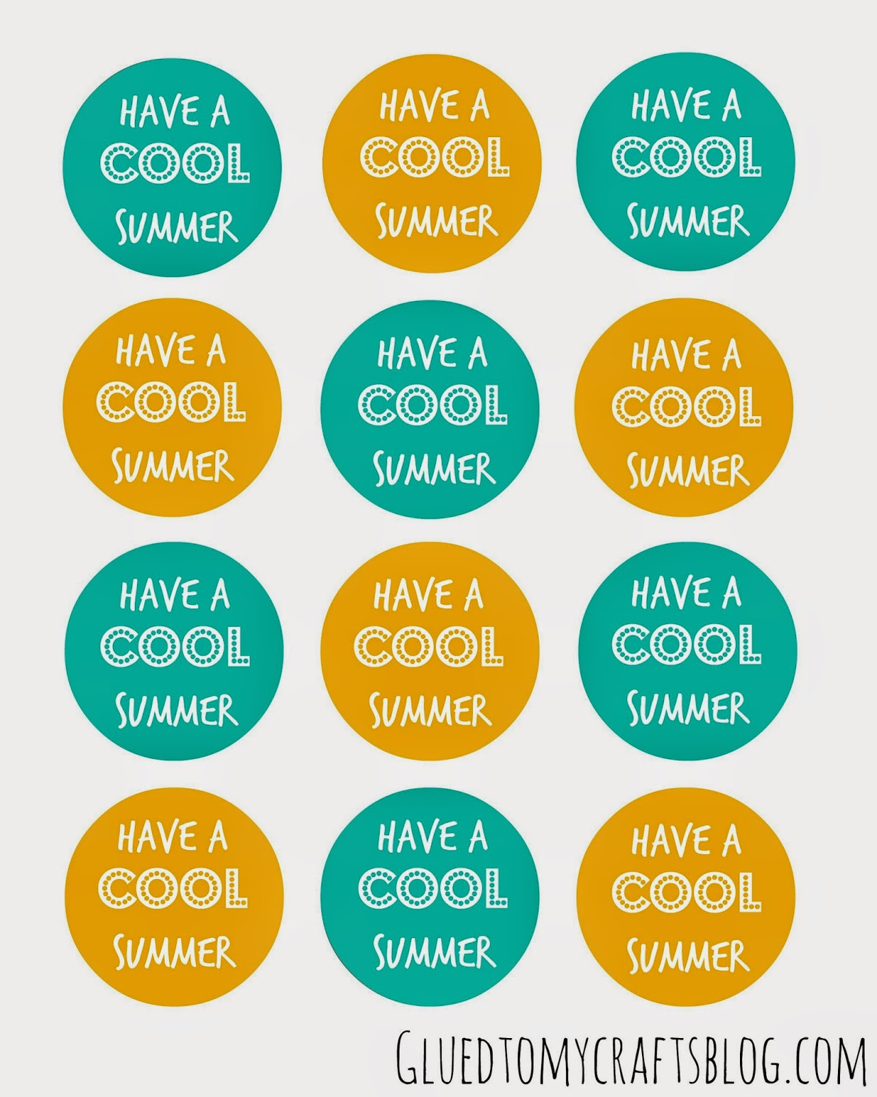7 Images of Have A Cool Summer Printable Free