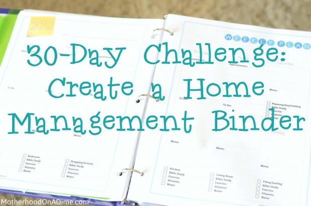 5 Images of Christian Home Management Binder Printables