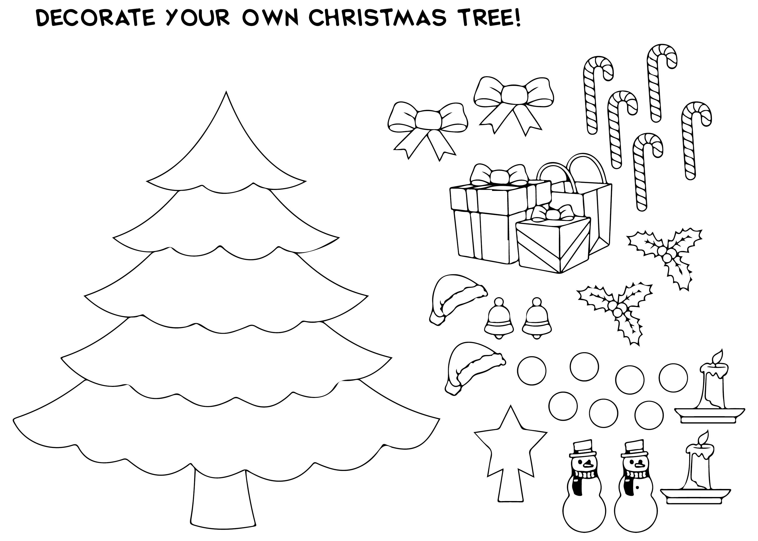 Printable Christmas Card Template for Kids