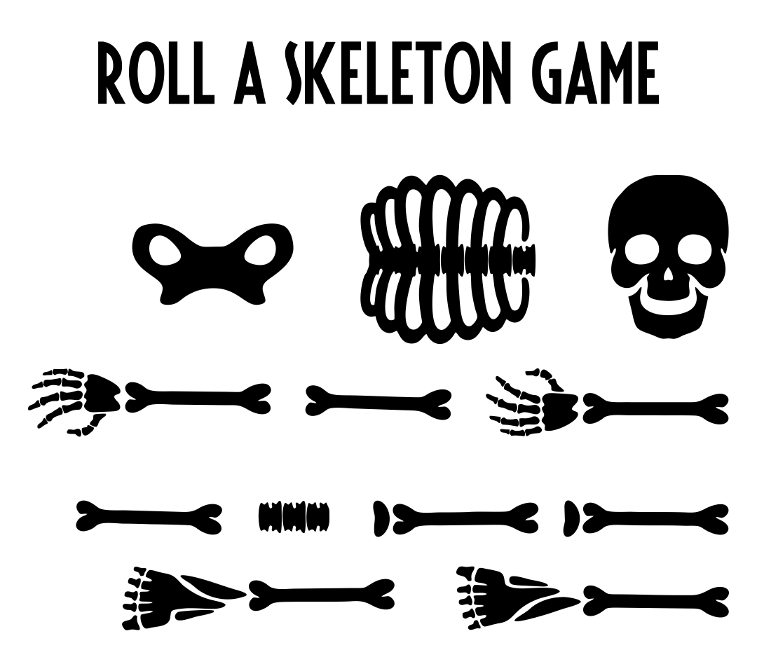 4 Images of Printable Halloween Games