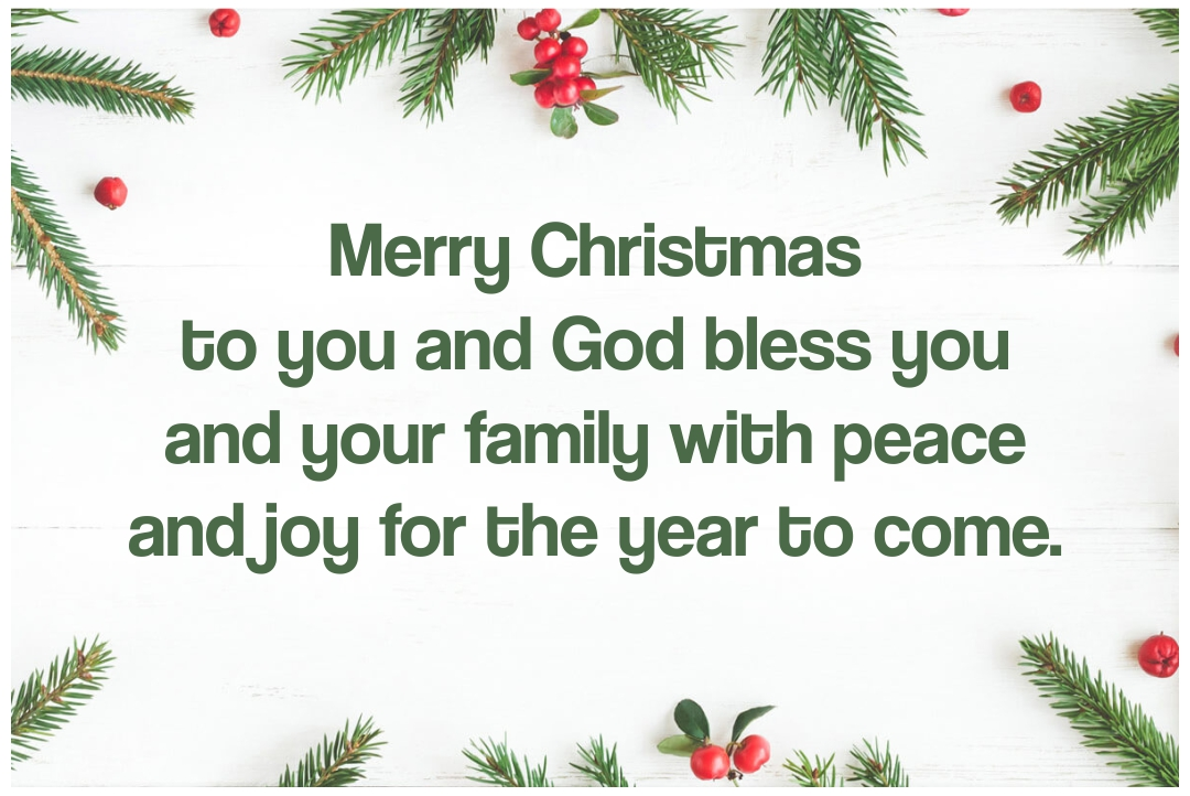 Religious Christmas Greeting Messages