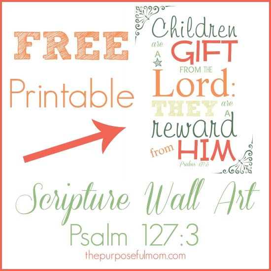 9 Images of Free Printable Scripture Wall Art
