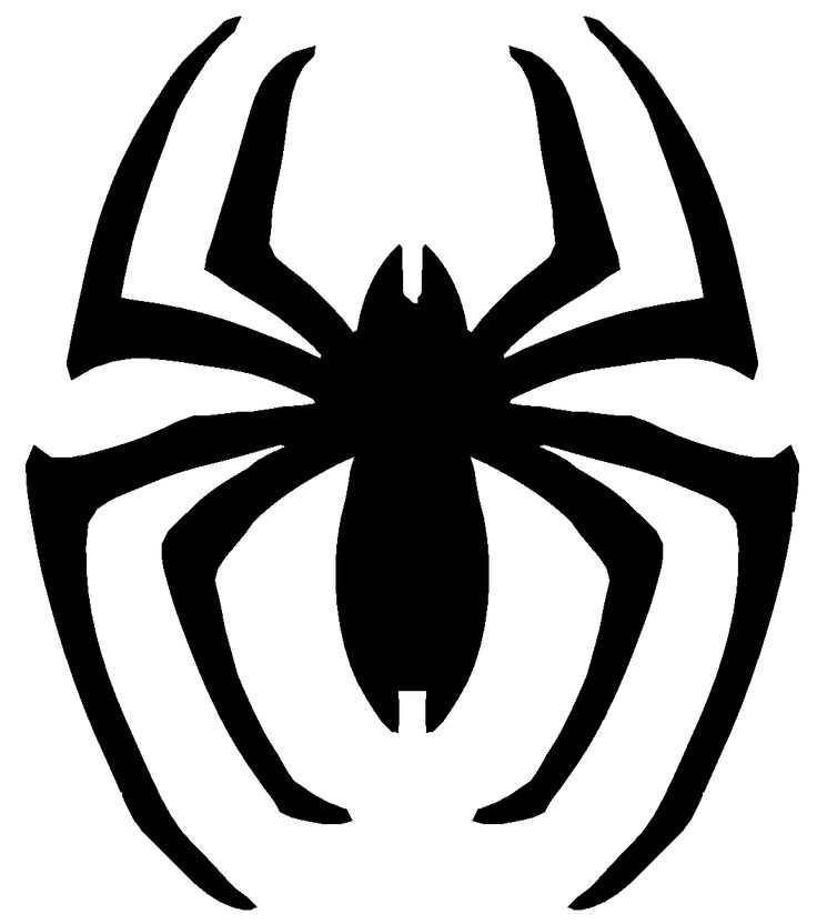 8 Best Images Of Printable Spider Man Symbol