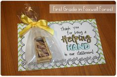 7 Images of Helping Hands Gift Tag Printable