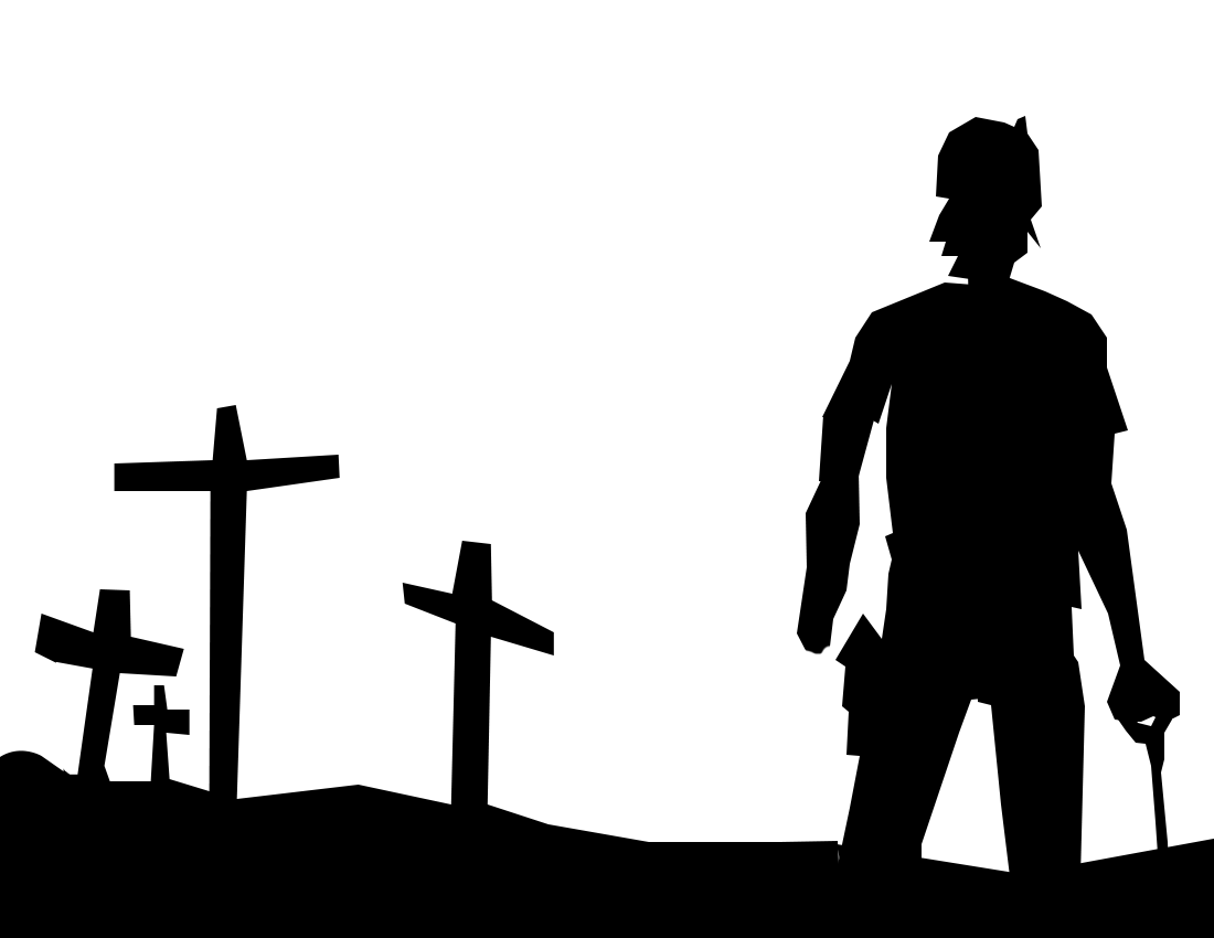 7 Images of Walking Dead Pumpkin Stencil Printable