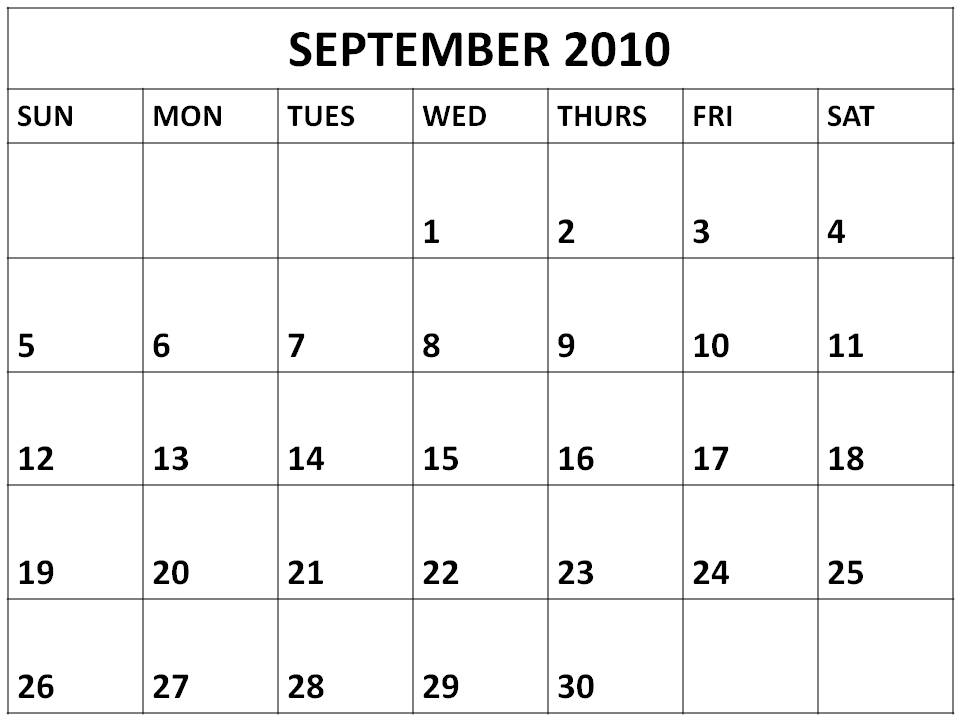 Calendar Monthly A : Best images of calendar printable free