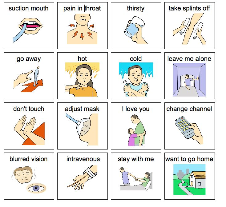 4 best images of printable speech flash cards autism