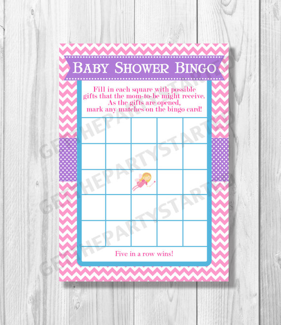 7 Images of Fairy Bingo Game Printable