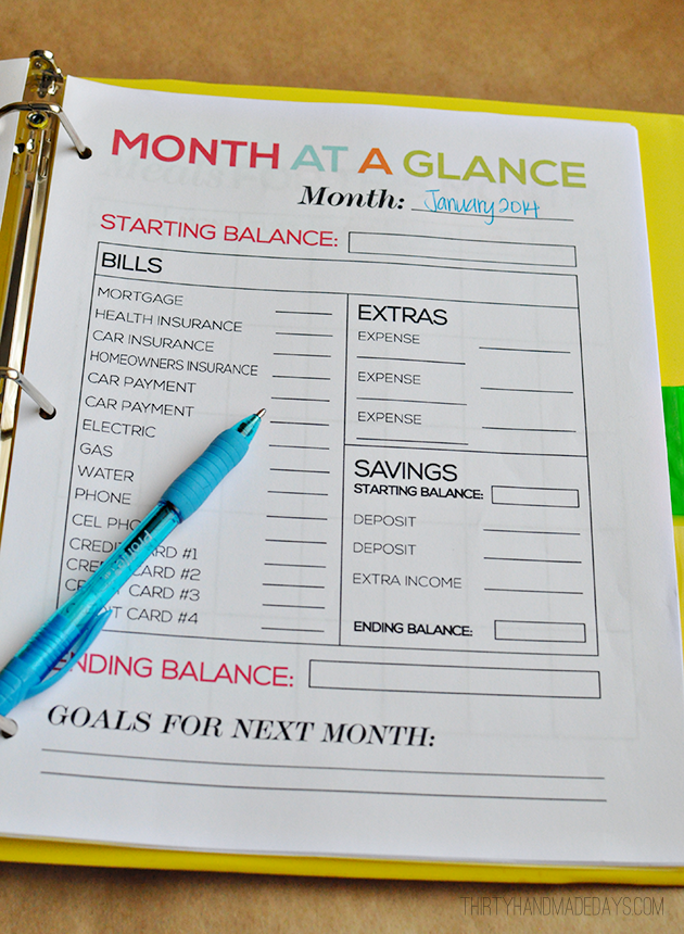 9 Images of Printable Budget Binder Template