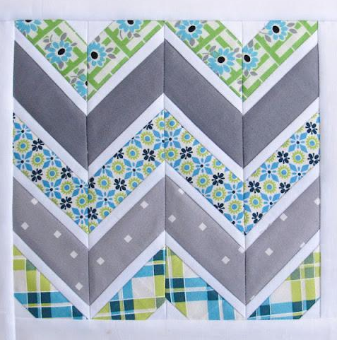 8 Images of Free Printable Chevron Pattern Quilt