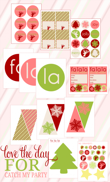 8 Images of Christmas Printables Catch My Party