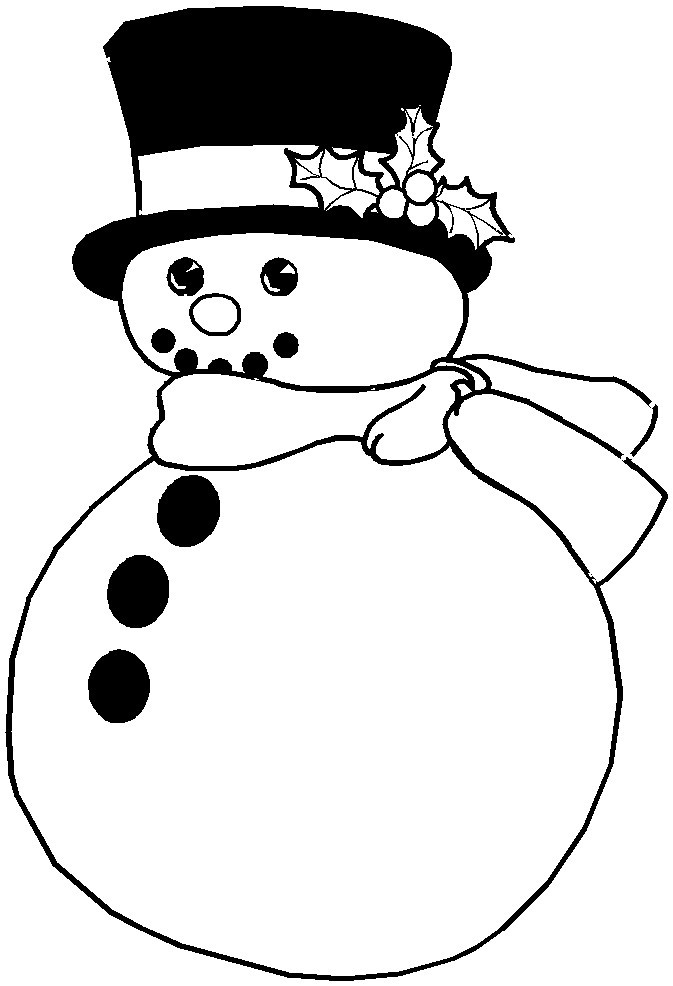 6 Best Images Of Printable Christmas Frosty The Snowman