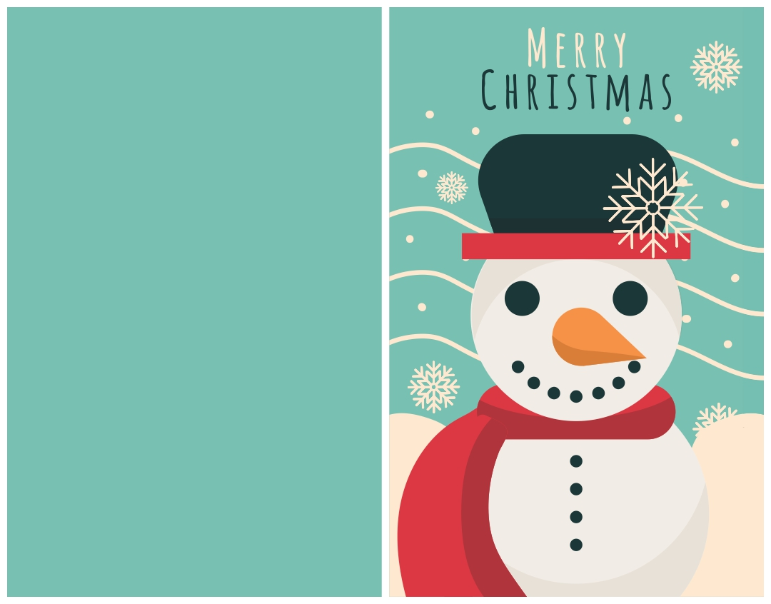 Cute Printable Christmas Cards for Kids