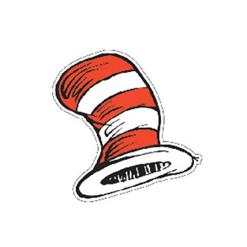 5 Images of Free Printable Dr. Seuss Cats Hat