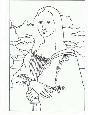 7 Best Images Of Printable Picture Of Mona Lisa