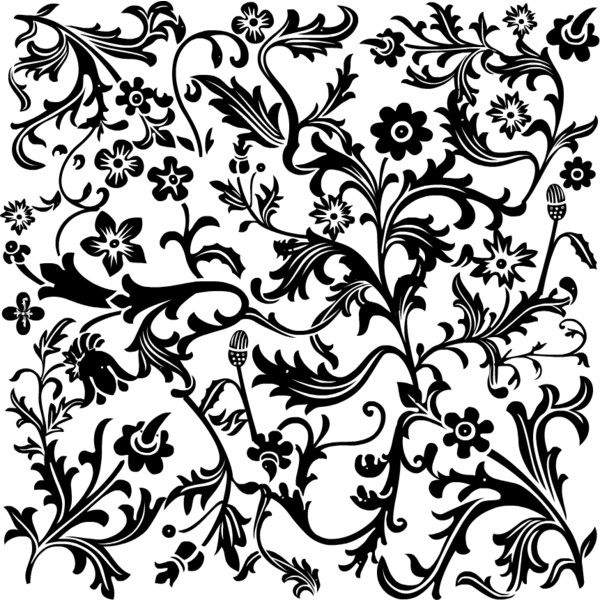 7 Images of Black And White Scrapbook Paper Printables