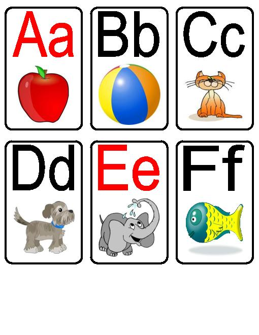 Free Printable Alphabet Letters Flash Cards