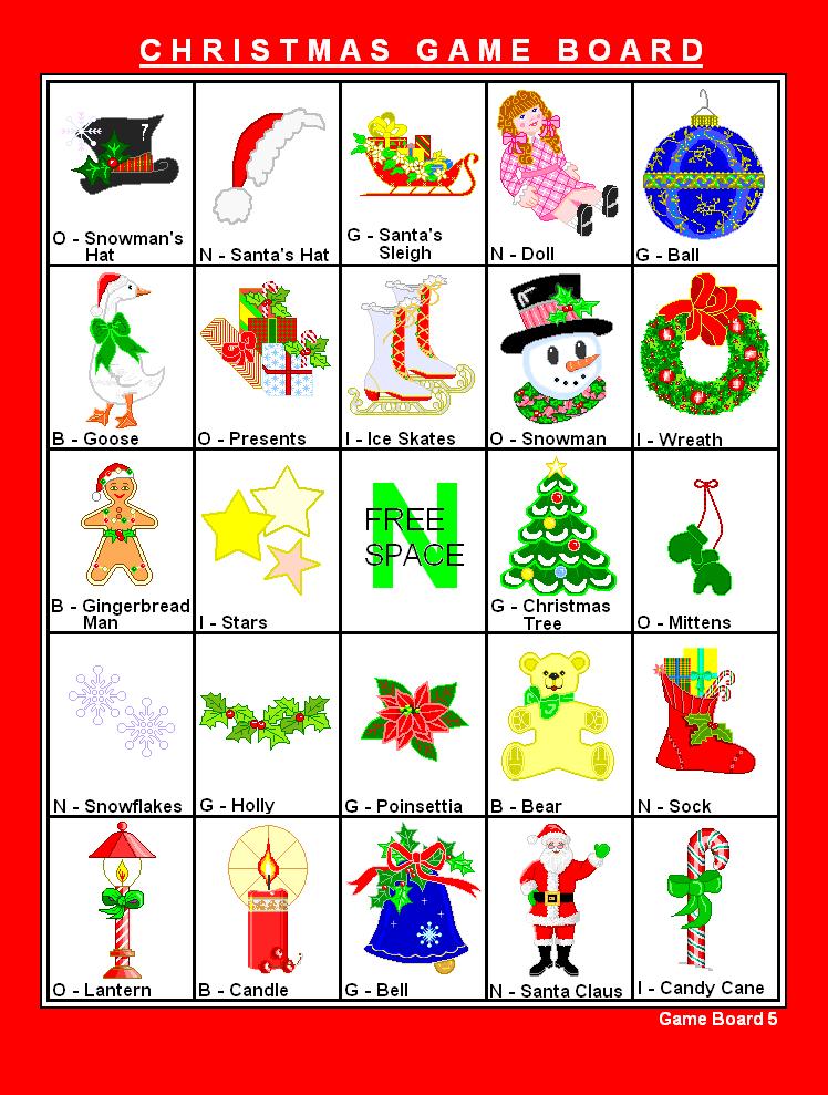 6 Images of Calendar Printable Christmas Game