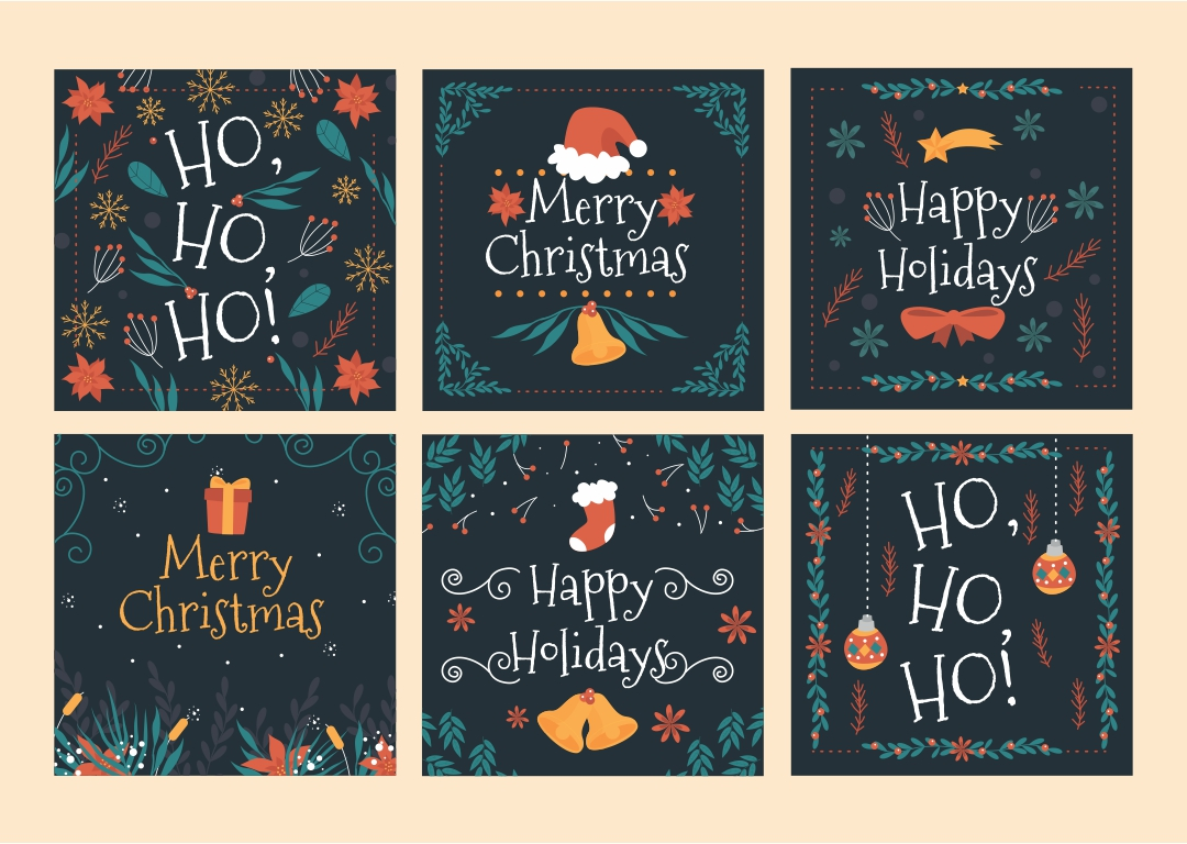 Printable Christmas Gift Tags PDF