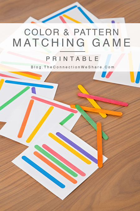 6 Images of Sticks Card Game Printable