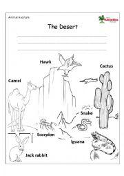 6 Images of Printable Desert Habitat