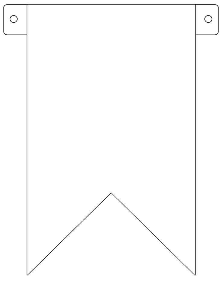 Free Printable Flag Banner Template