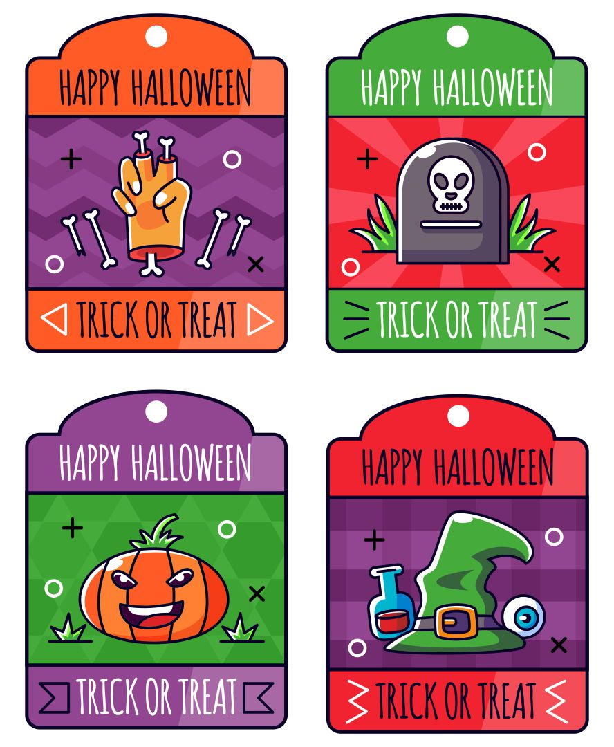 4 Images of Free Halloween Printables