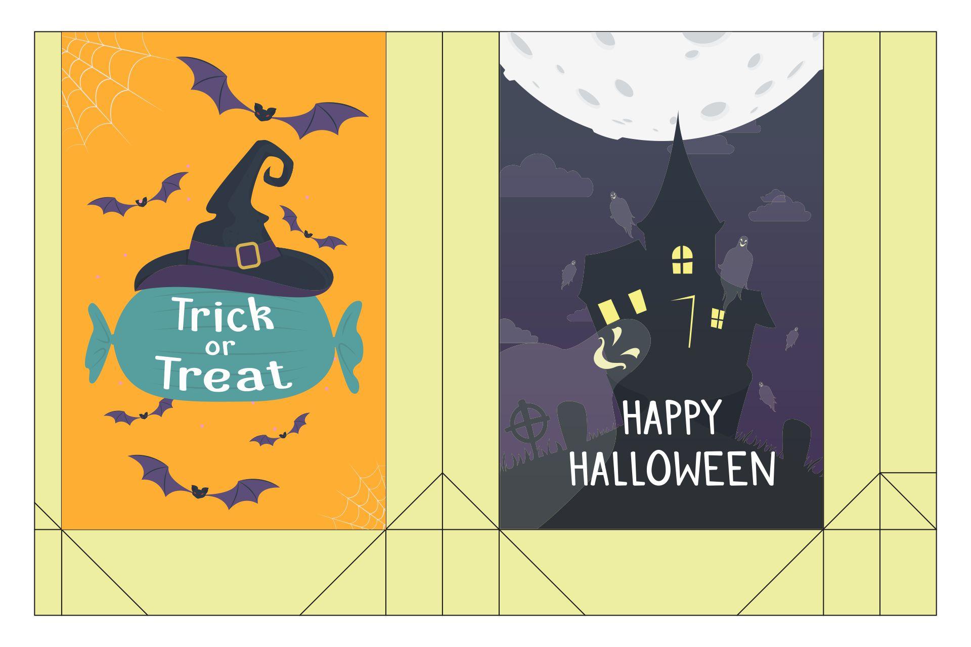 Halloween Bags printable halloween bags Free Printable Halloween Treat Bags