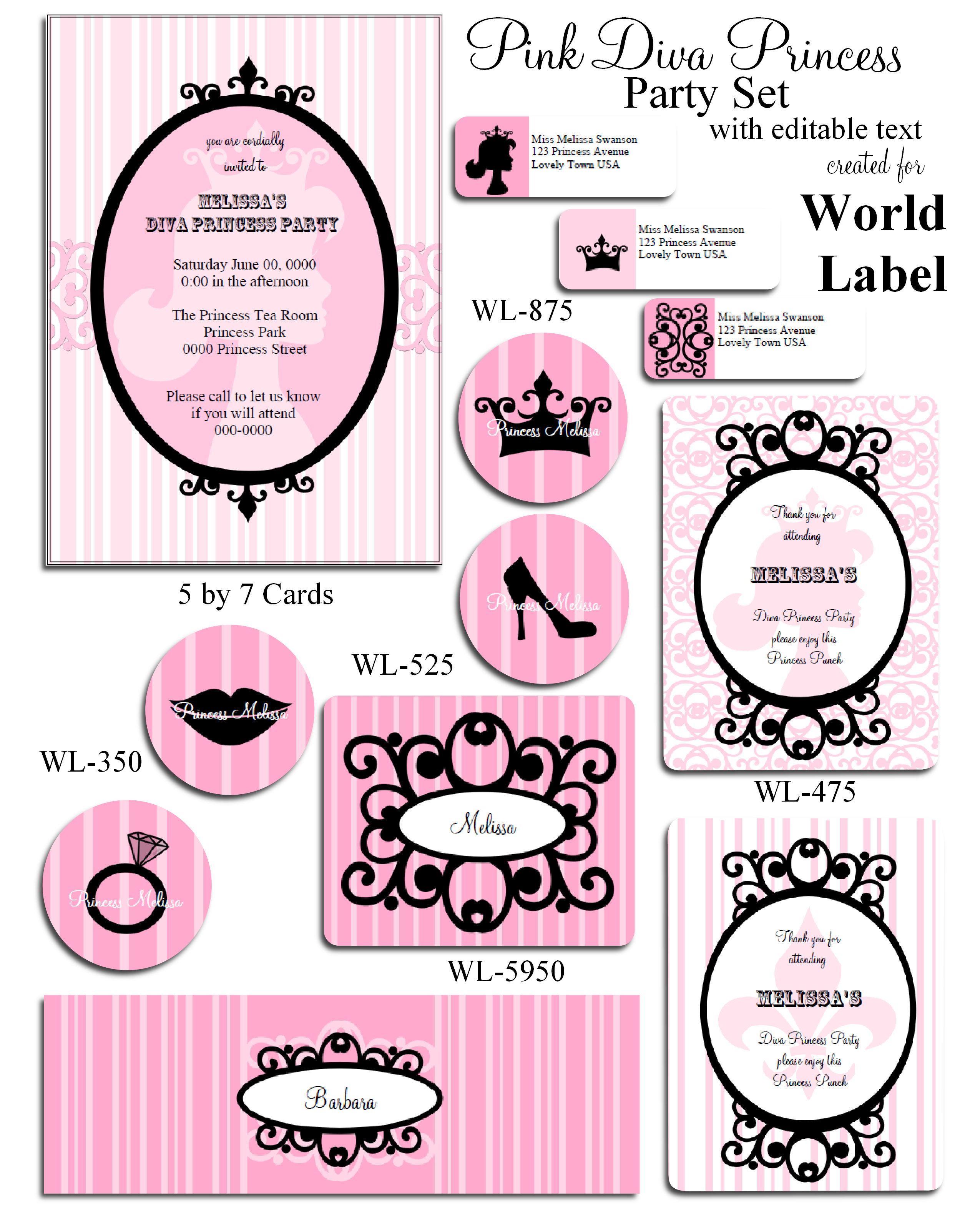 best images of printable party label templates printable label templates pink
