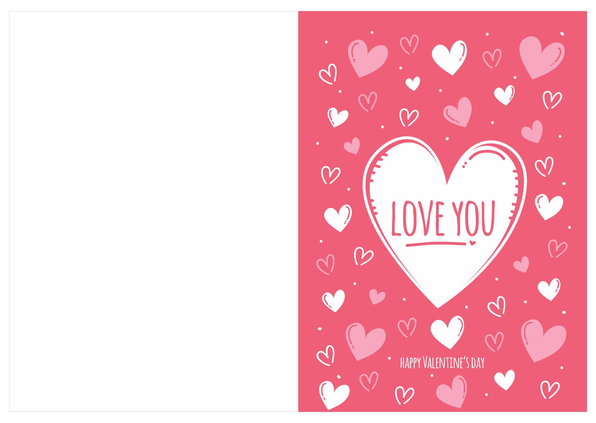 Free Printable Love Cards for Him