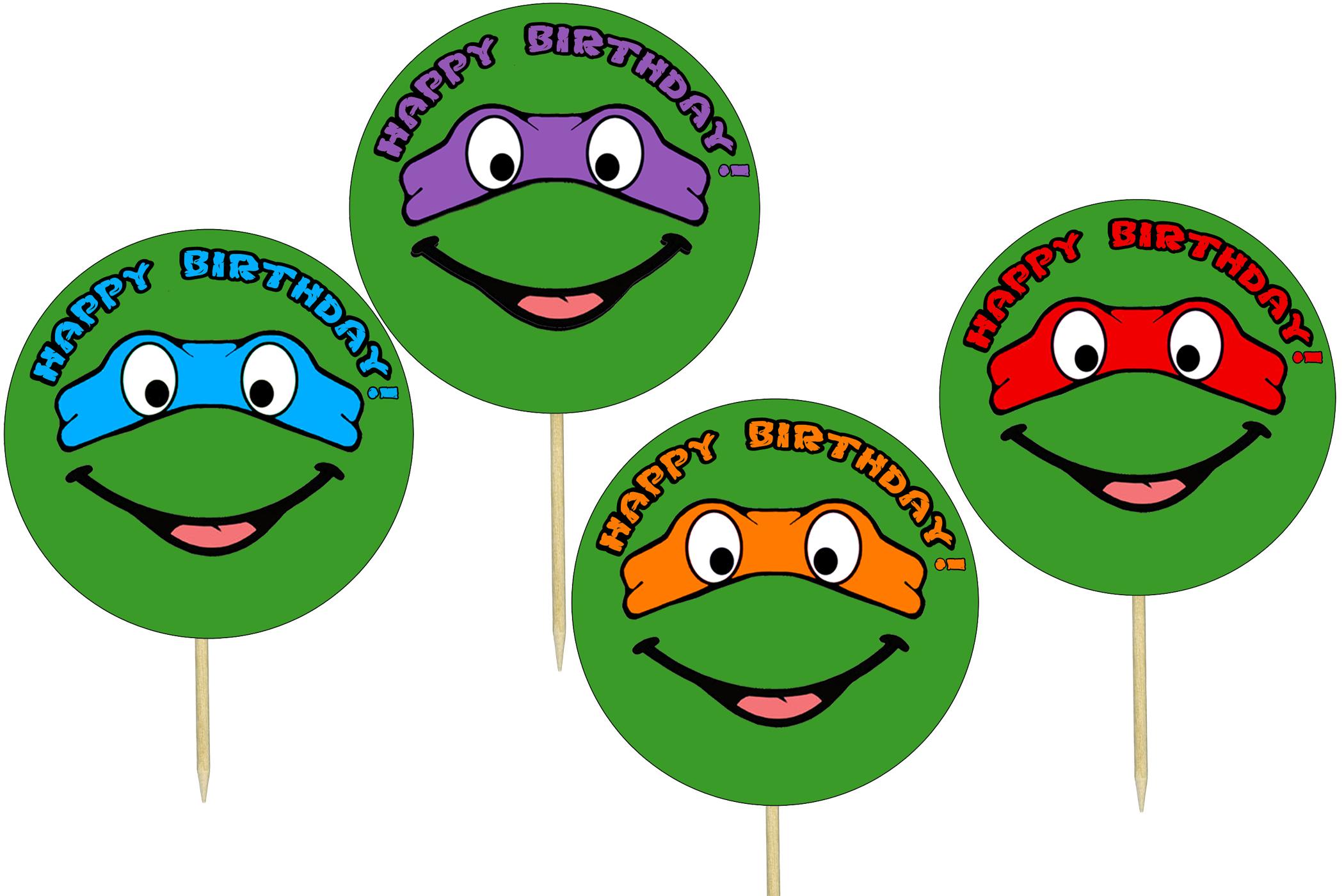 Free Ninja Turtles Printables & Becuo