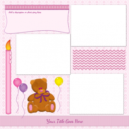Free Printable Scrapbook Templates