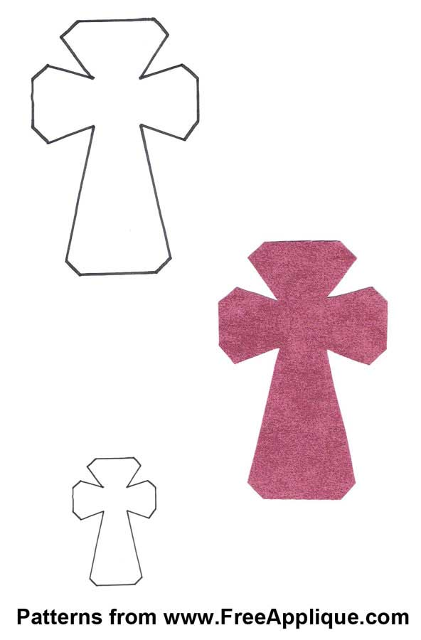 7 Images of Printable Cross Shapes
