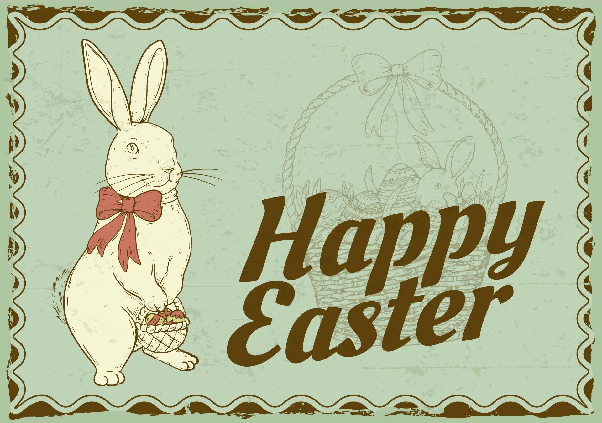 5 Images of Vintage Easter Printables