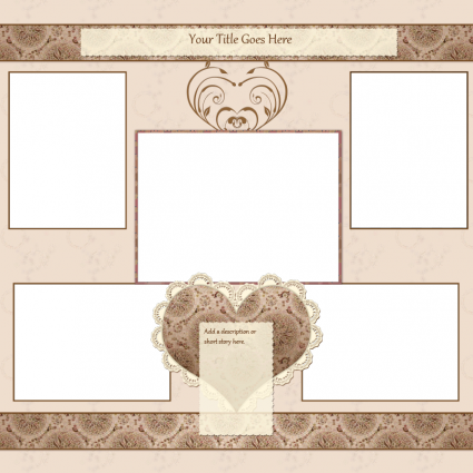 Free Scrapbook Templates to Print