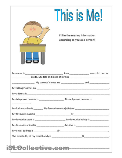 Worksheets Getting To Know Students Worksheet 6 best images of getting to know student printable get your students worksheet
