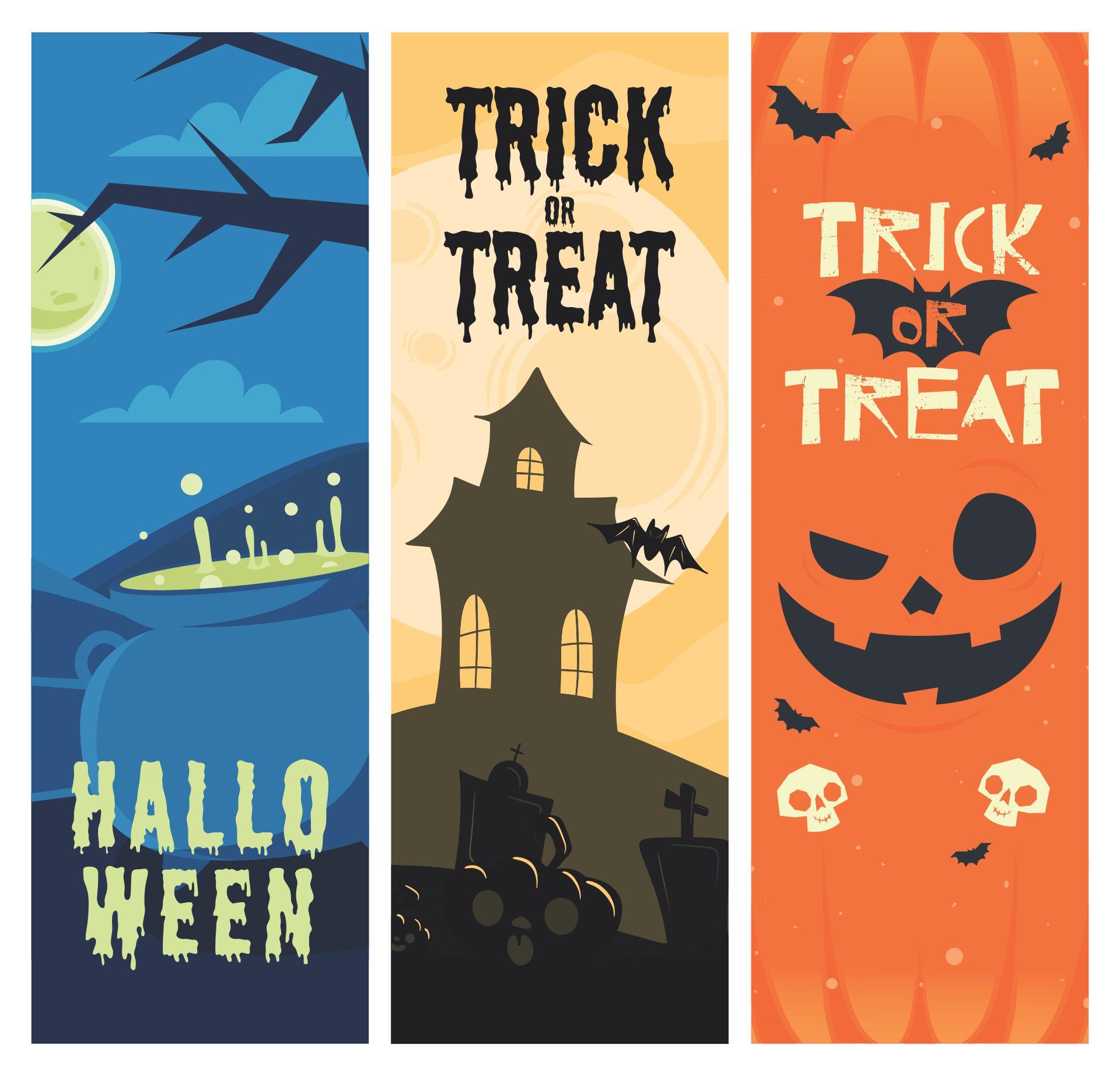 Halloween Bookmarks to Print