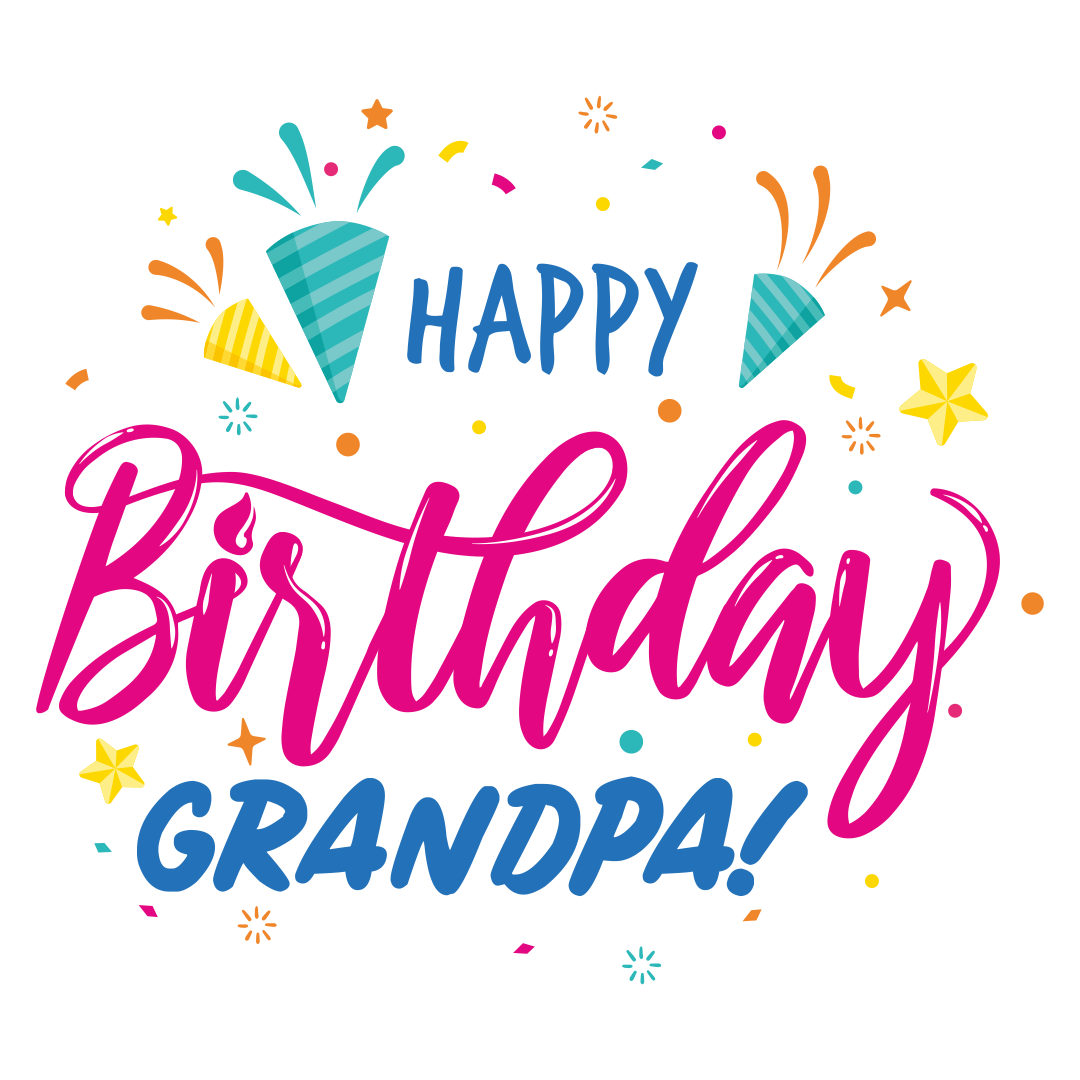 5 Images of Happy Birthday Grandpa Printable