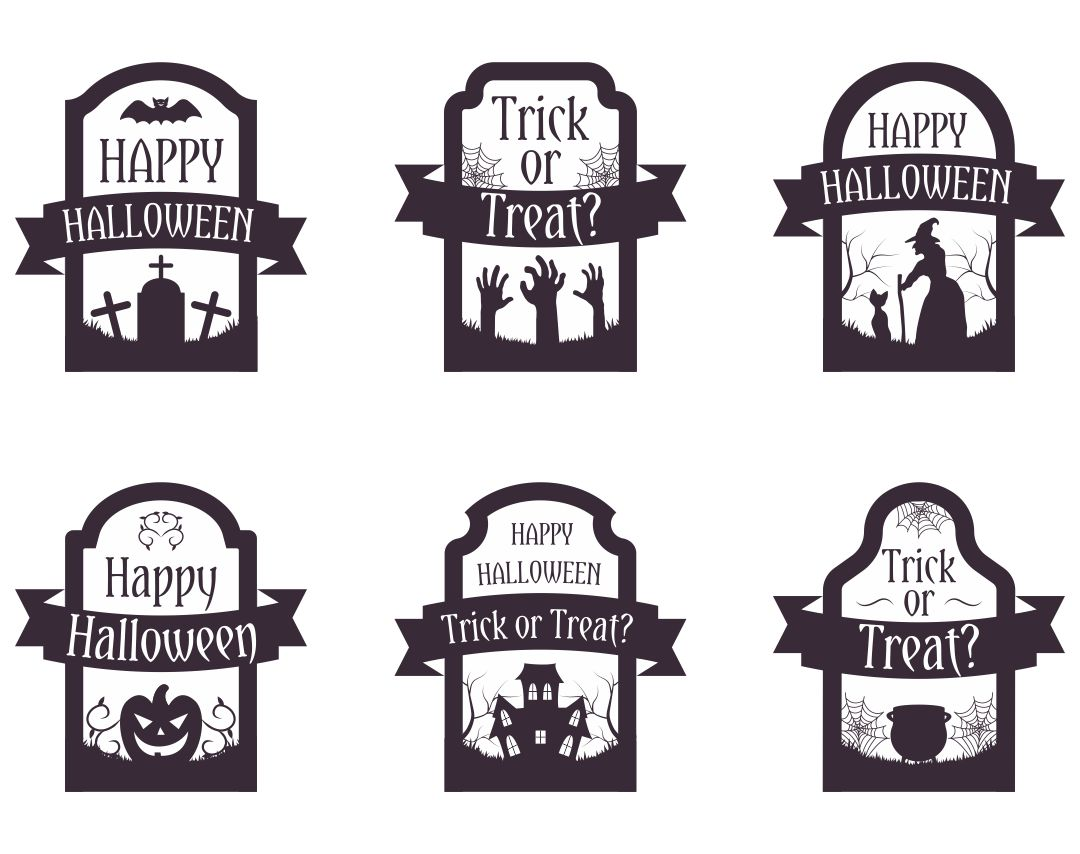 Happy Halloween Tags Printable Free