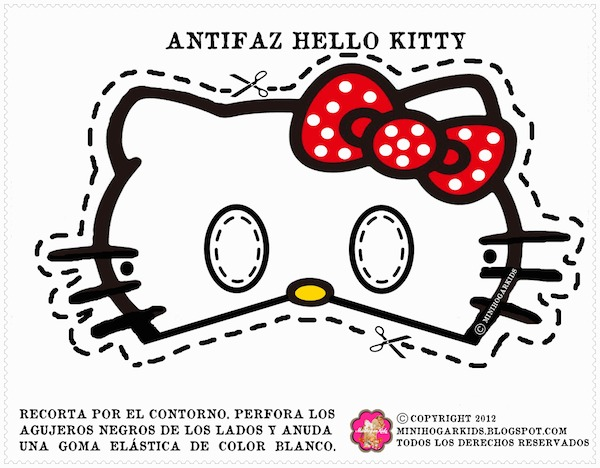 4 Images of Hello Kitty Printable Cutouts