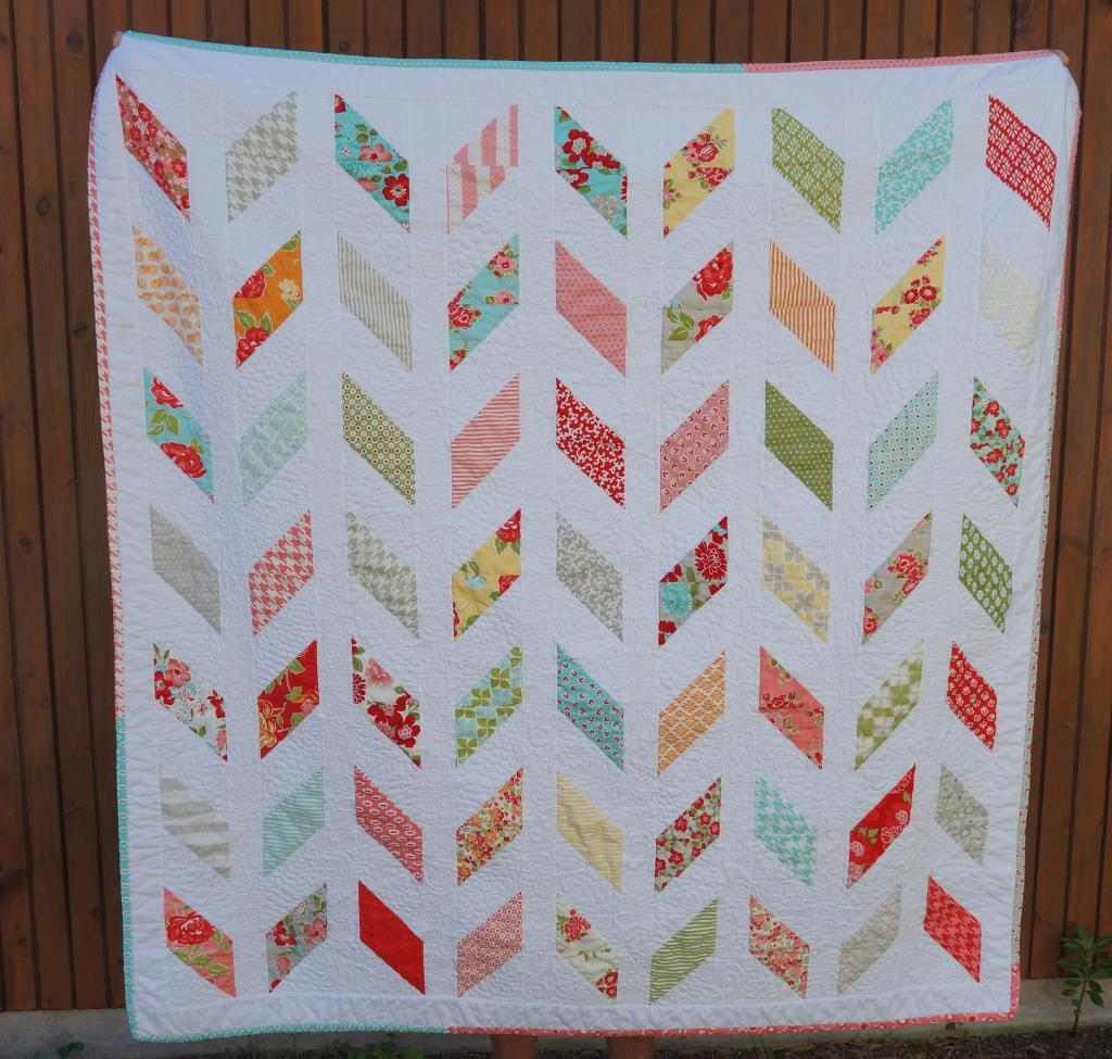 8 Best Images of Free Printable Chevron Pattern Quilt - Chevron Quilt Pattern Free, Free Chevron ...