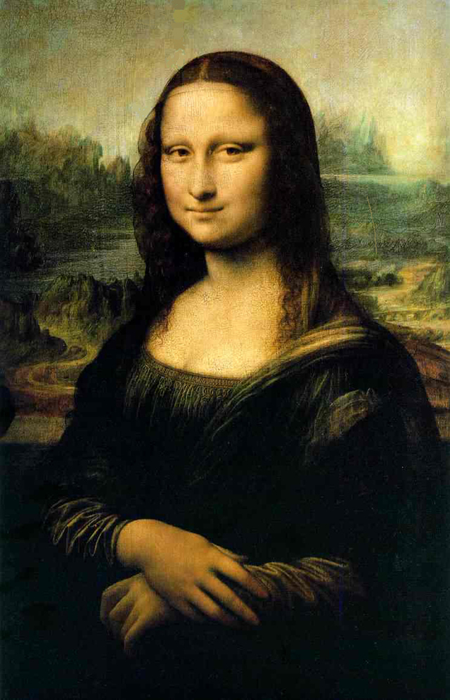 7 Images of Printable Picture Of Mona Lisa