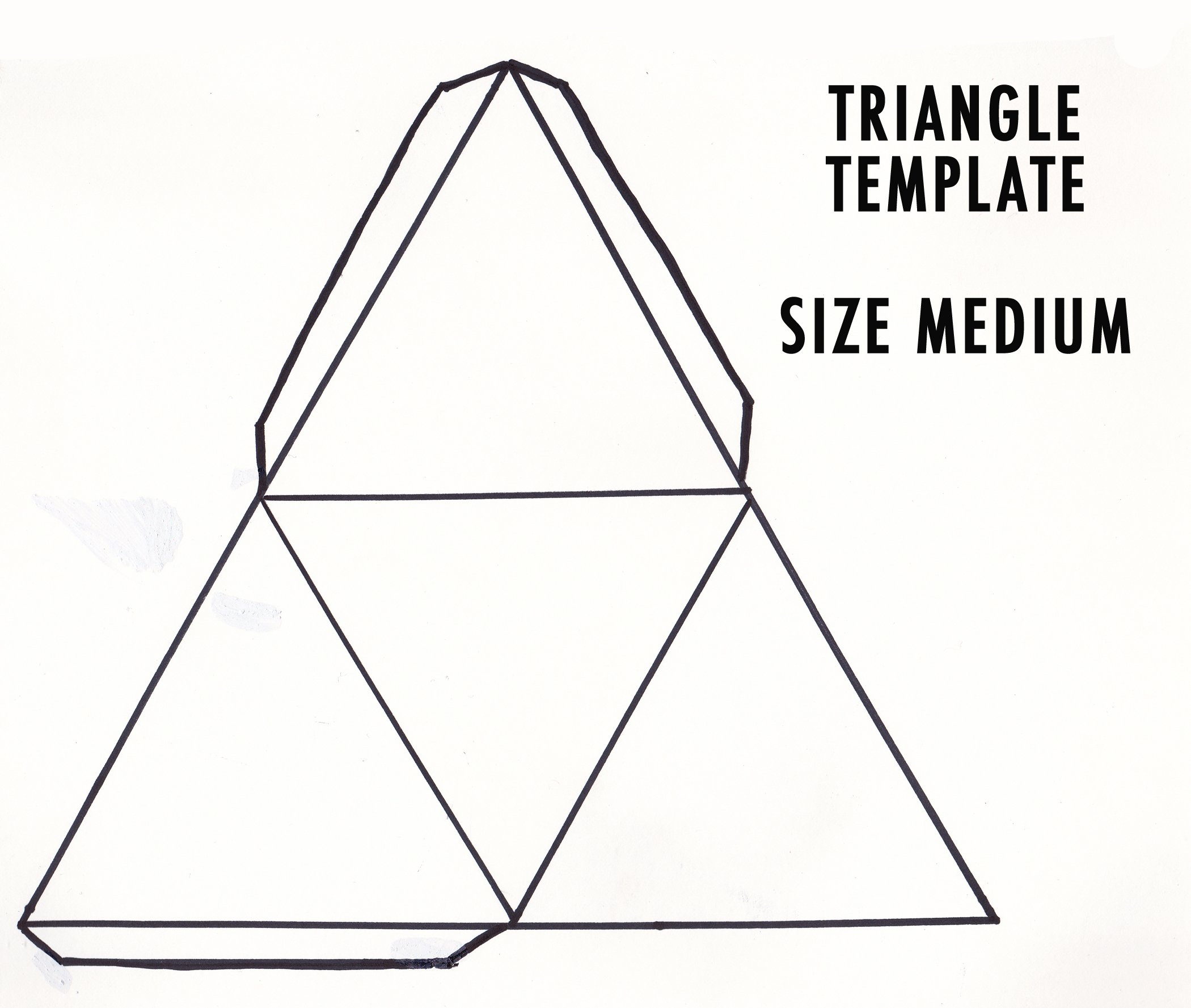 5 Best Images of Make 3D Shapes Printable Templates - 3D Geometric ...
