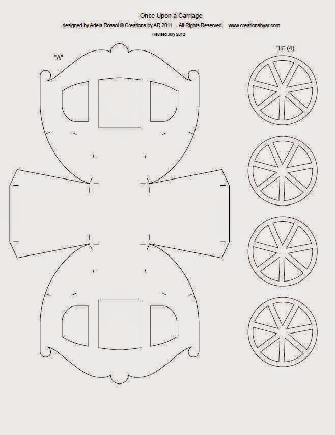 5 Images of Baby Carriage Printable Template