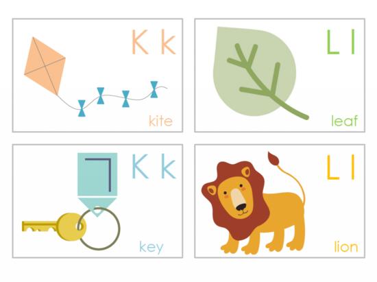 Printable Alphabet Flash Cards for Kids