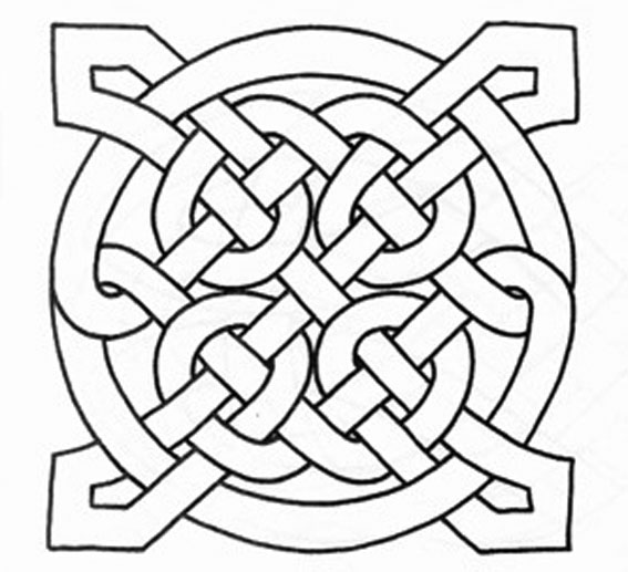 6 Images of Printable Celtic Knot Designs